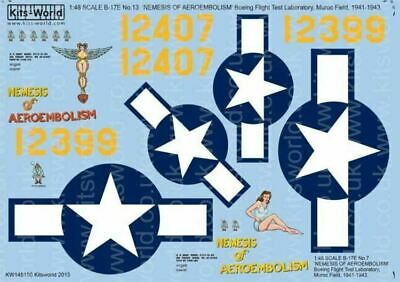 Kits-World KW148150 1/48 B-17E Flying Fortress Decals • 10.75£