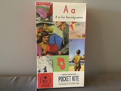 Ladybird Books Pocket Kite Strutless Parafoil Childrens Kids Outdoor Fun • 5.99£
