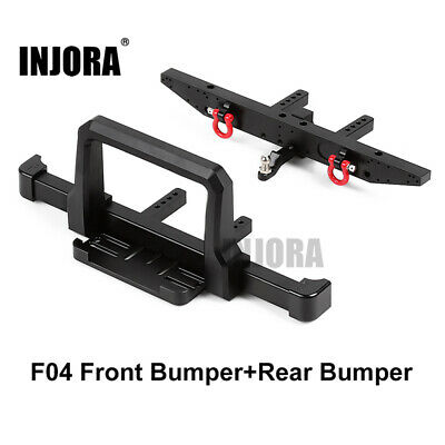 Classic Metal Front Bumper With Rear Bumper For 1/10 RC Crawler Traxxas TRX4 • 29.38£