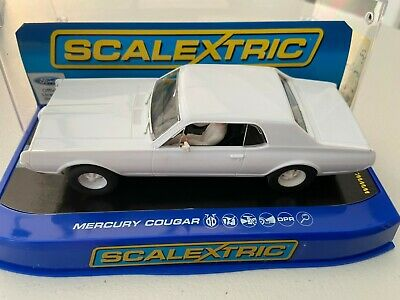 Scalextric  C3443 Ford Mustang Plain White Sample New Boxed • 60£