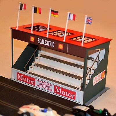 1:32 Scale Kit - Vintage Scalextric Grandstand - For Scalextric/Other Layouts • 31£