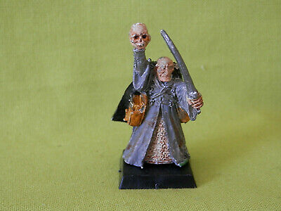 A3 Mordheim Games Workshop The Undead - Necromancer Metal Model • 15£
