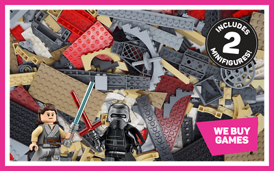 LEGO Star Wars 1kg Bundle - 700 Mixed Bricks, Parts Plates & Pieces + 2 Minifigs • 19.99£