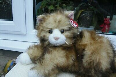 Lovely  Ty Classic Tabby Cat        Jumbles      Tag, 2009,  • 28£