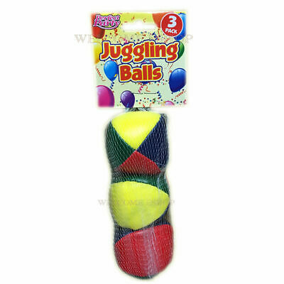 Learn To Juggle Set Of 3 X Coloured Juggling Balls • 3.49£