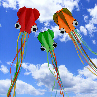 Kite Flying With 30m Flying Line Kids Child Outdoor Holiday Toy Colorful UK • 8.51£