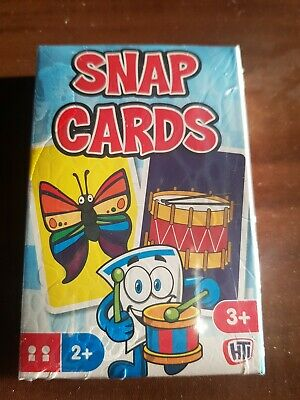 New Snap Cards Kids Family Game Playing Cards Party Bag Toy • 2.49£