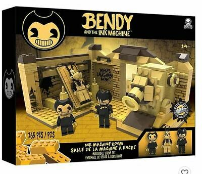 Bendy And The Ink Machine Studio Room Scene Construction Lego Set New 265 Pieces • 13.95£