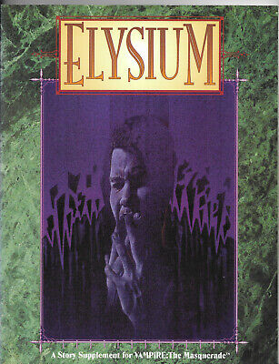 Elysium, For Vampire The Masquerade, 2nd Edition, 1994 By White Wolf  • 14£