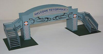 1:32 Scale Kit - Spectator Footbridge - For Scalextric/Other Layouts • 26£