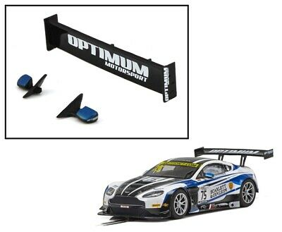NEW Scalextric W11206 Rear Wing Spoiler For Aston Martin GT3 British GT C4027 • 5.49£