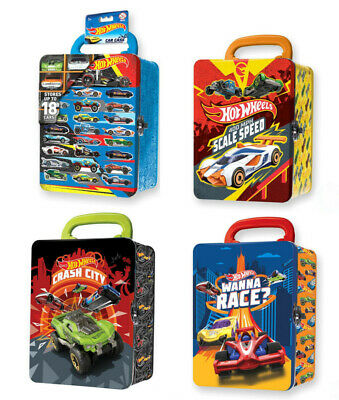 Intek Hwcc2 1/64 Hotwheels Metal Car Carry Case Random Design • 12.99£