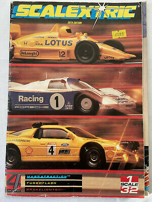 Scalextric 1988 Catalogue - Edition 29 Good Condition • 3.99£