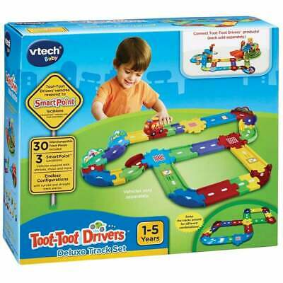 VTech Baby Toot-Toot Drivers Deluxe 30 Piece Track Set - 3 Vehicle Smart Points • 17.99£