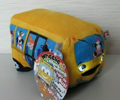 Wheelie - Wheels On The Bus - The Singing & Dancing Light Up Bus! - Plush Toy. • 9.99£