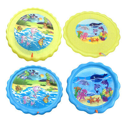 Inflatable Sprinkler Pad Splash Play Mat Fun Toy Kids Water Swimming Pool  • 9.59£