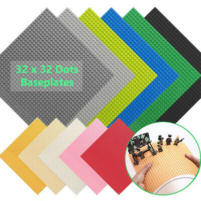 Baseplate Base Plates Building Blocks 32 X 32 Dots Compatible For LEGO Boards • 5.99£