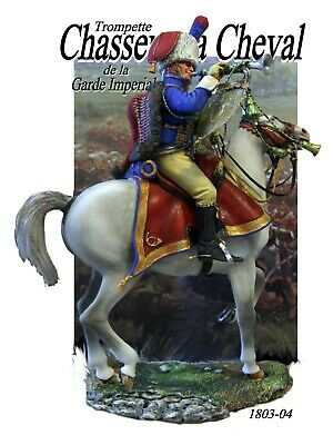 Napoleonic Trumpeter Chasseur à Cheval  Kit 120mm • 56£