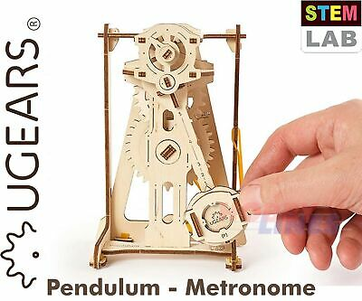 UGears STEM Lab PENDULUM METRONOME Model 71033 Wooden Construction Puzzle 3D Kit • 13.49£