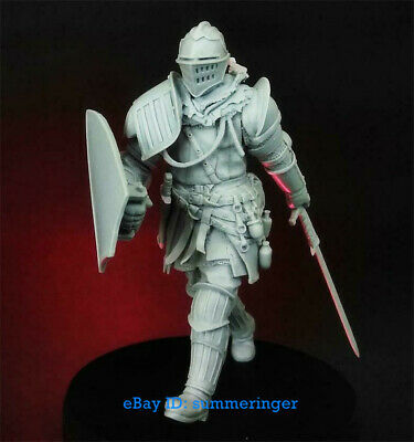 1/24 Scale Armored Knight Figure Unpainted Resin Model Kits MX4197 Garage Kit • 24.99£