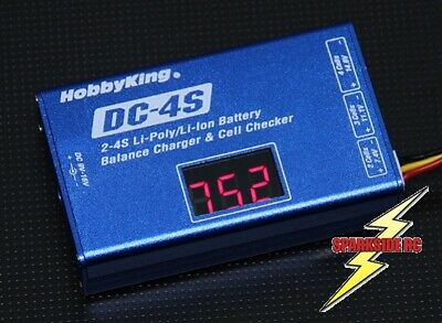 Lipo Balance Charger 2s - 3s - 4s Turnigy DC-4S 12 Volt • 14.99£