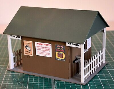 1:32 Scale Kit - Vintage Scalextric Entrance Hut - For Scalextric/Other Layouts • 18£