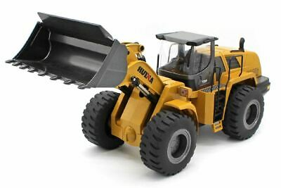 HUINA 1/14 Scale Alloy 10 Channel 2.4Ghz Wheel Loader #1583 • 199.99£