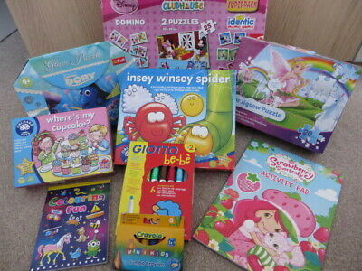 Childrens Jigsaw Puzzle & Activity/Games Bundle - Orchard Toys/Disney Superpack • 20£