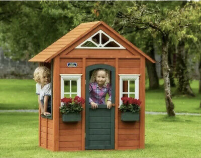 Classic Kids Wooden Cubby Play House LAST ONE • 249.75£