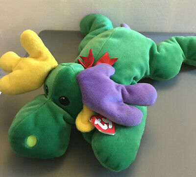 Ty Pillow Pals, Antlers The (green) Moose See Description) • 8.99£