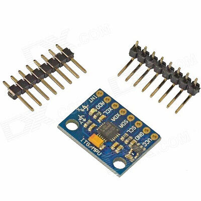 GY-521 BEST MPU-6050 Module 3 Axis Gyroscope Accelerometer Module. UK Stock. • 2.49£
