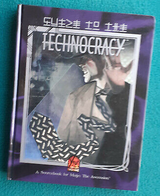 Guide To The Technocracy, Hardback For Mage The Ascension, 2nd Edition, 1999 By  • 22£