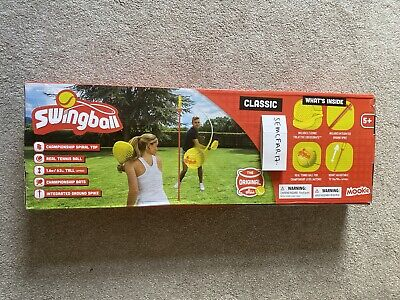 🔥MOOKIE CLASSIC SWINGBALL Game Set WITH POLE SPIKE FOR GRASS GARDEN Fastest 🚚 • 49.99£