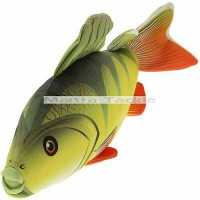 New 60cm Perch Fish Shaped Bedchair Pillow Cushion Fishing Soft Toy Angler Gift • 9.09£