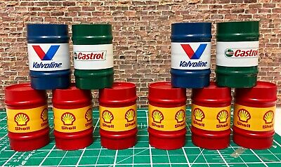 1/18 Scale 4 X 210ltr Oil Drums • 16£