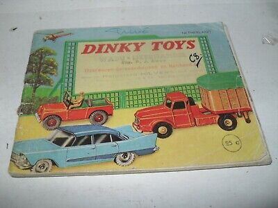 Dinky Toy Catalogue 1959 Netherlands Edition V Good Condition For Age • 4.20£