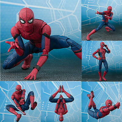 Kids Gift Toy Spider-Man Homecoming Spiderman Super Hero PVC Action Figure Model • 18.99£