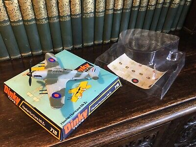 Dinky Toys Hawker Hurricane. No.718 • 125£