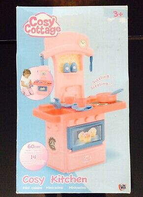 Cosy Cottage Cosy Kitchen Pink Roleplay Set Stand For Children 3+ • 27.99£