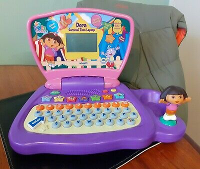 Dora The Explorer Carnival Time Laptop Fully Working EXCELLENT Condition  • 9.95£