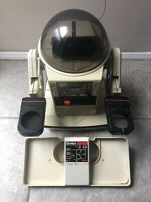 Tomy Omnibot - 1980s With Tray And Remote • 76£