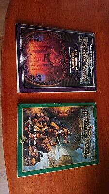 Advanced Dungeon And Dragons Forgotten Realms The Throne Of Bloodstone. • 9.80£