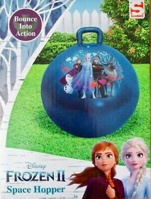 Sambro DISNEY FROZEN II SPACE HOPPER Children's Kid's Outdoor Garden Toy • 9.90£