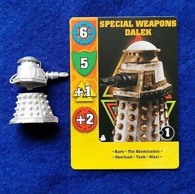 Dr Who Exterminate Game Miniature Of Special Weapon Dalek • 5.45£