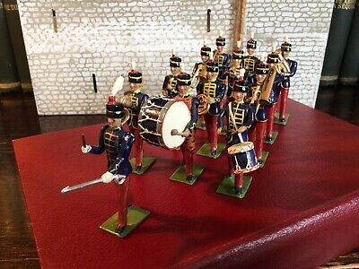 Britains Castings Lead Soldiers Military Bandsmen. • 57.50£