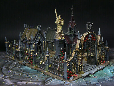 Nicely Painted Sigmarite Mausoleum/Garden Of Morr. Scenery. Citadel.  • 89.99£