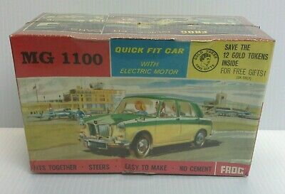 FROG VINTAGE 1960's 1.24? SCALE MOTORISED MODEL KIT MG 1100 (MINT SEALED) F043* • 11.50£