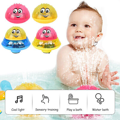 Electric Water Spray Flash Light Ball Bath Toys Sprinkler Swimming Pool Toy Gift • 7.88£
