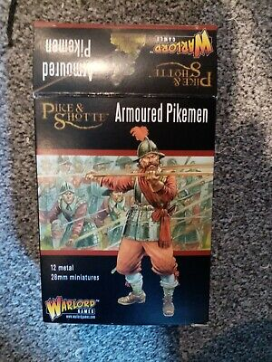Warlord Games Pike & And Shotte Armoured Pikemen 12x Metal 28mm • 11.51£