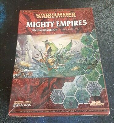 Warhammer Mighty Empires Expansion Complete Fantasy Games Workshop • 70£